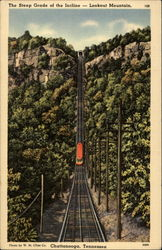 The Steep Grade of the Incline - Lookout Mountain
