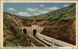 Raton Tunnels, between Trinidad, Colorado, and Raton, New Mexico