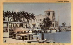Yacht Basin and Chamber of Commerce Building on the Broad Manatee River