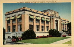 Martin Building (State Office Building) Postcard