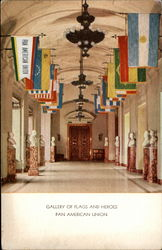 Gallery of Flags and Heroes, Pan American Union