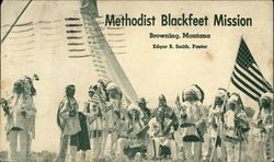 Methodist Blackfeet Mission