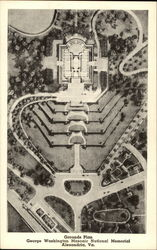 Grounds Plan, George Washington Masonic Naitonal Memorial