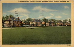 Commissioned Officers' Quarters, Aberdeen Proving Grounds