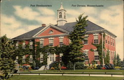 Post Headquarters, Fort Devens, Massachusetts