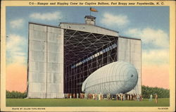 Hangar and Rigging Crew for Captive Balloon