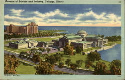 Museum of Science and Industry Postcard