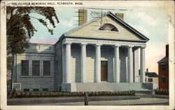 The Pilgrim Memorial Hall