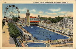 Swimming Pool in Steeplechase Park