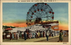 Wonder Wheel and Virginia Reel