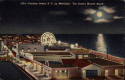 Carolina Beach, N.C. by Moonlight, The South's Miracle Beach