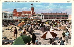Beach Scene and Convention Hall