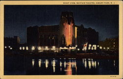 Night View, Mayfair Theatre Postcard