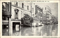Business District Under Water