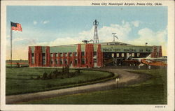 Ponca City Municipal Airport Postcard