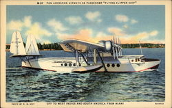 Pan American Airways 32-Passenger Flying Clipper Ship