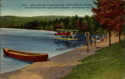 Safe Landing at Eighth Lake, State Camping Grounds