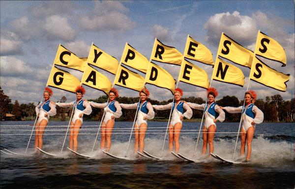 Beauty on Parade Cypress Gardens Florida