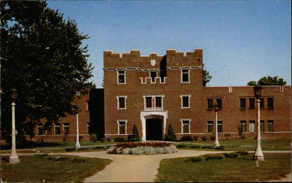 The Quadrangle, Residence for Men, State University of Iowa Iowa City