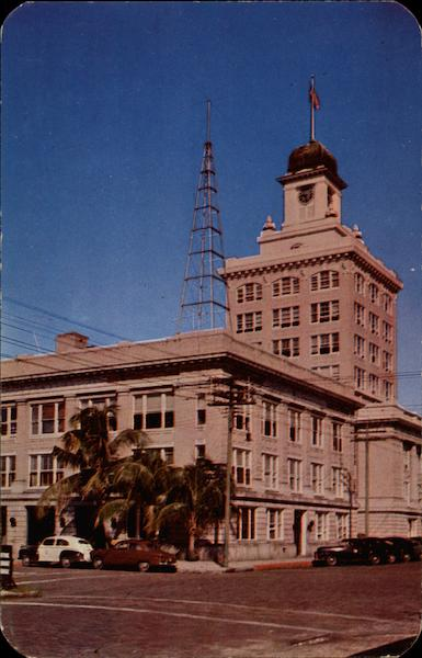 City Hall and the Police Station Tampa Florida
