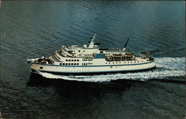 M.V. Queen of Prince Rupert, British Columbia Ferries Victoria Canada
