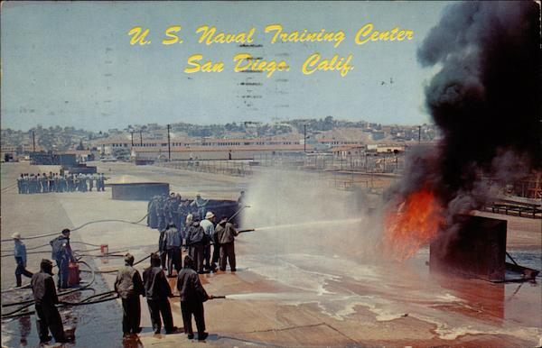U.S. Naval Training Center San Diego California