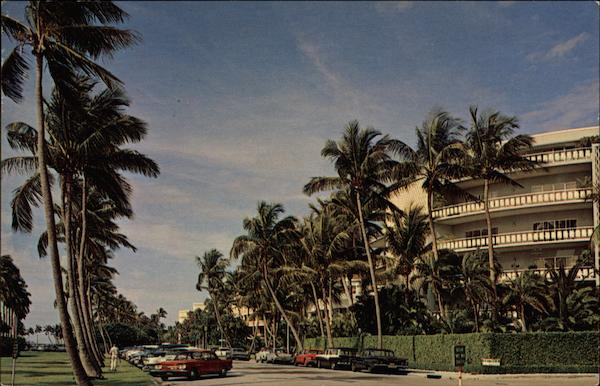 Lake Drive Palm Beach Florida