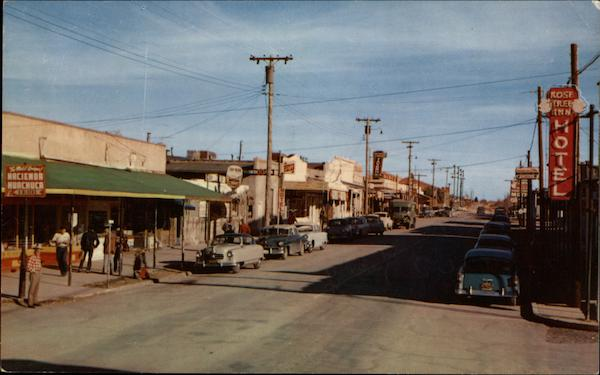 Allen Street, The Main Drag Tombstone Arizona