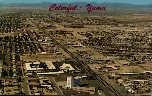 Aerial View Yuma Arizona