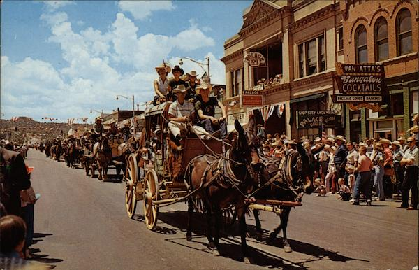 Annual Frontier Days Parade Prescott Arizona