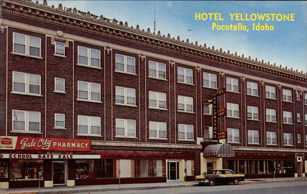 Hotel Yellowstone Pocatello Idaho