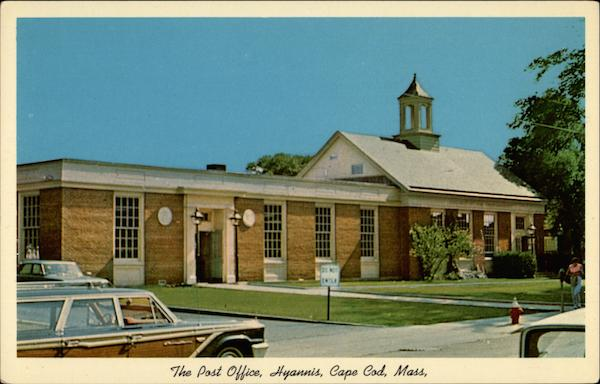 The Post Office, Hyannis Cape Cod Massachusetts