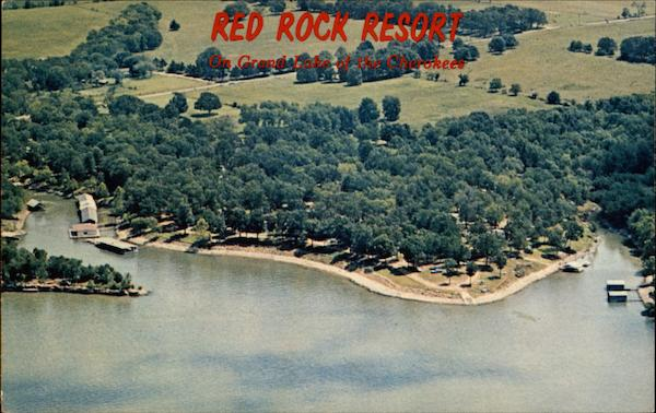 Red Rock Resort on Grand Lake of the Cherokees Oklahoma
