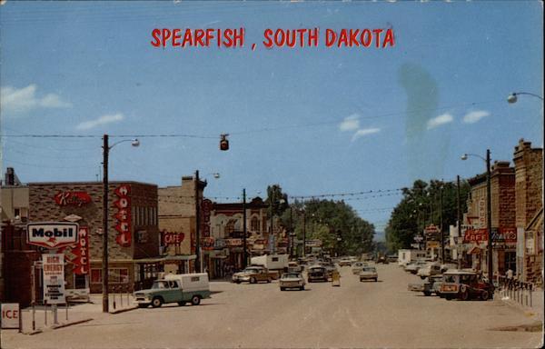 Main Street Spearfish Sd