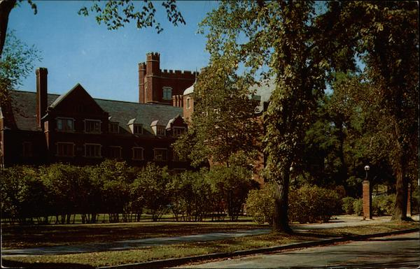 Risley Hall, Girls' Dormitory, Cornell University Ithaca New York