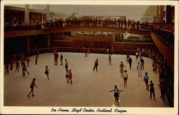 Ice Arena, Lloyd Center Portland Oregon