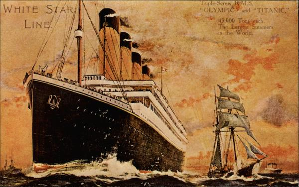 White Star Line - Titanic (Reproduction) Boats, Ships