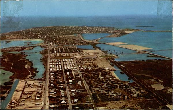 Aerial View of the City Key West Florida