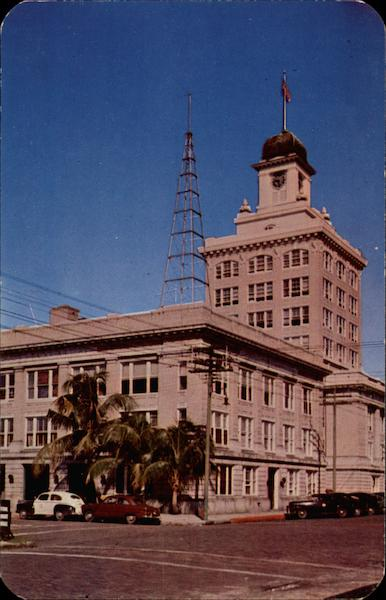 City Hall and Police Station Tampa Florida