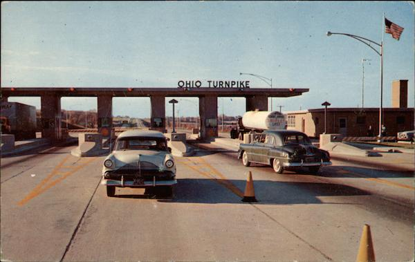Main Entrance to Ohio Turnpike from Penn. going West