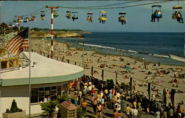 Boardwalk in Santa Cruz California