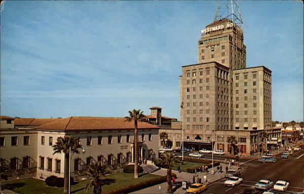Hotel Westward Ho And U S  Post Office Phoenix  Az