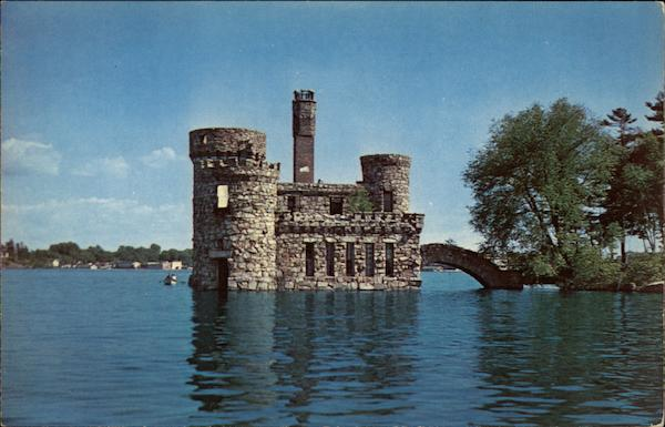 Boldt Castle near Alexandria Bay, St. Lawrence River Thousand Islands New York