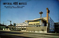Imperial 400 Motels Postcard