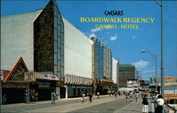 Caesers Boardwalk Regency Casino-Hotel Postcard