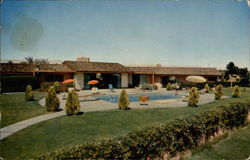 Home and Swimming Pool of Phil Harris and Alice Faye