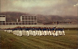The Cadet Wing and Academic Buildings, U.S. Air Force Academy