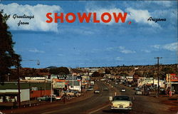Greetings From Showlow, Arizona