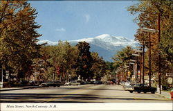 Main Street, with Mt. Washington in the background
