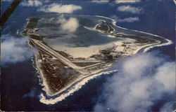 Aerial View of Wake Island